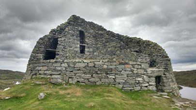 Carloway Broch on the Isle of Lewis