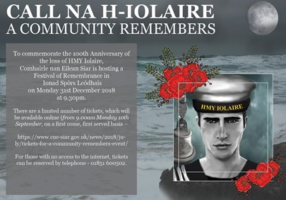 Iolaire poster