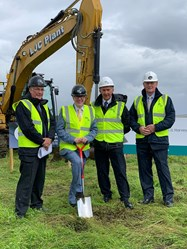 Goathill Turf Cutting