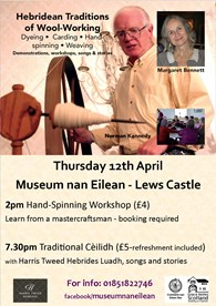 Workshop and Ceilidh Poster