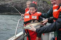 Children Sea Fishing
